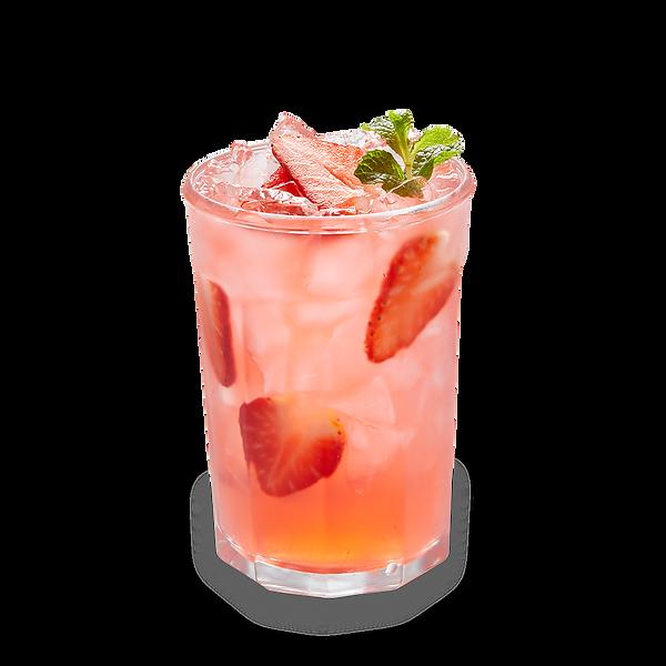 Strawberry Mint Lemonade
