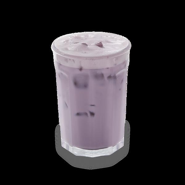 Ube milk tea