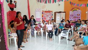 CRAS encerra atividades do outubro rosa com dia de palestras para mulheres do PAIF