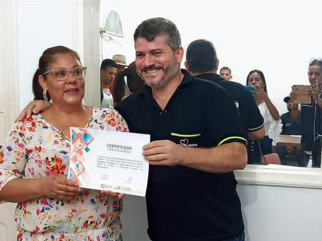 Prefeitura certifica fazedores de cultura contemplados com a Lei Aldir Blanc
