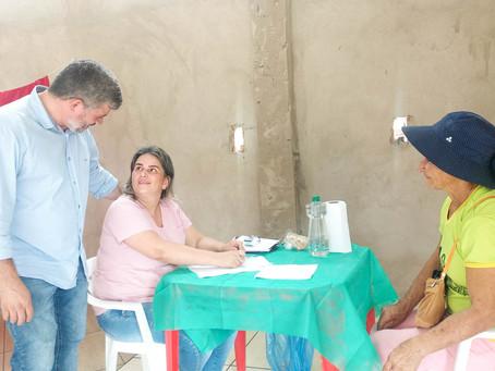 Prefeitura realiza melhorias no Ramal dos Pereiras até o ultimo morador