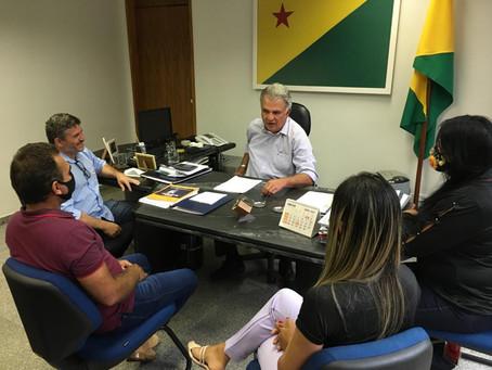 Agenda em Brasília – Sérgio Lopes busca recursos para Epitaciolândia