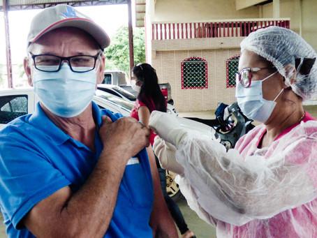 Imunizados- Prefeitura aplica vacina contra covid-19 em mais de mil idoso em Epitaciolândia