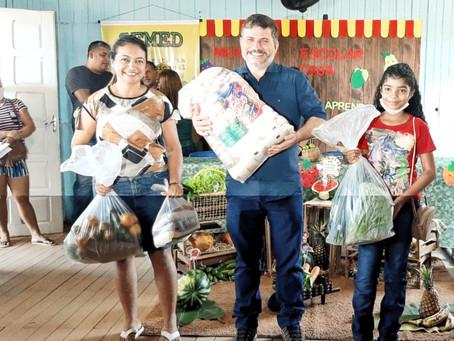Prefeitura  de Epitaciolândia realiza a entrega de kit merenda escolar aos alunos da rede municipal