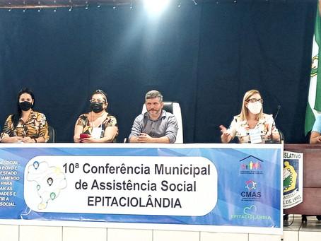 Prefeitura realiza 10ª Conferência Municipal de Assistência Social