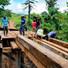 Comunidade Parceira - Prefeitura e moradores recuperam ponte no Ramal dos Pereiras