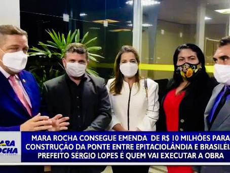 Sérgio Lopes garante 10 milhões para construção de ponte entre Epitaciolândia e Brasiléia