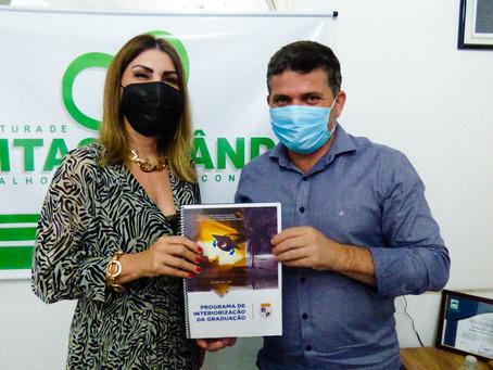 Prefeito de Epitaciolândia inicia tratativas com Ufac, para capacitação profissional de servidores