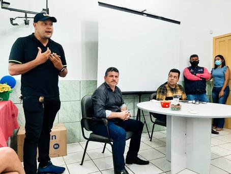 Prefeito Sérgio Lopes reúne com profissionais da Atenção Básica para alinhamento das ações