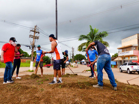 """"""" Cultura no paisagismo"""" Projeto vai transformar espaços públicos em jardins em Epitaciolândia"""