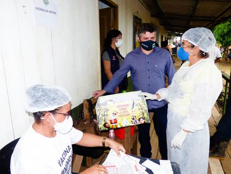 """Prefeitura leva programa """"SAÚDE NA COMUNIDADE"""" para moradores do Ramal da Torre"""