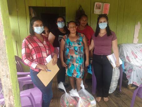 Prefeitura distribui cestas básicas e sopa para famílias no ramal da Torre e Polo de Epitaciolândia