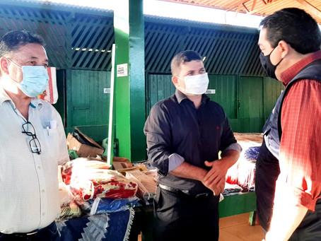 Prefeito Sérgio Lopes recebe a visita do Secretário Estadual de Agricultura e firma parcerias