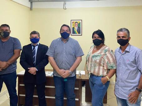 Prefeito Sérgio Lopes e vereadores da base visitam SEPA em busca de parcerias para Epitaciolândia