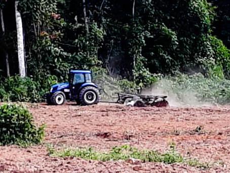 Prefeitura intensifica ações do projeto de mecanização agrícola