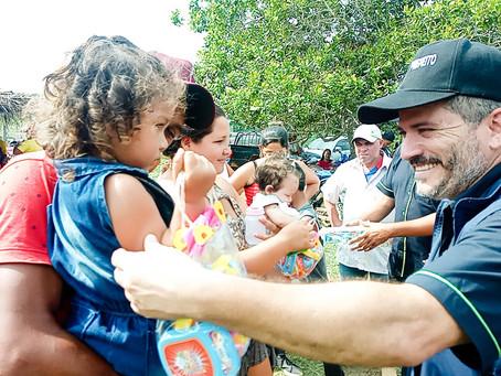 Prefeitura leva desenvolvimento e realiza sonho antigo da Comunidade do Fortaleza