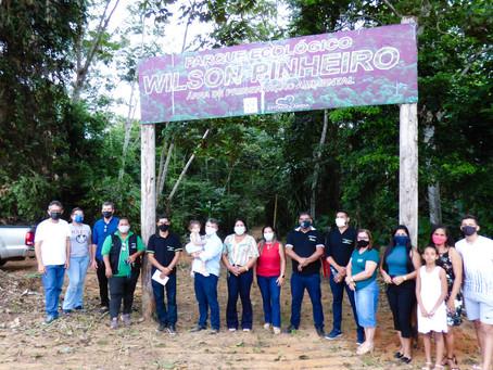 Prefeitura fecha semana do meio ambiente com reabertura do Parque Wilson Pinheiro