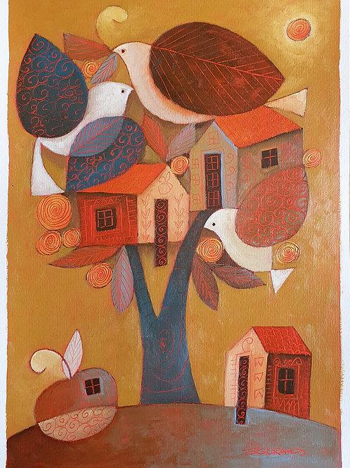 árvore casa