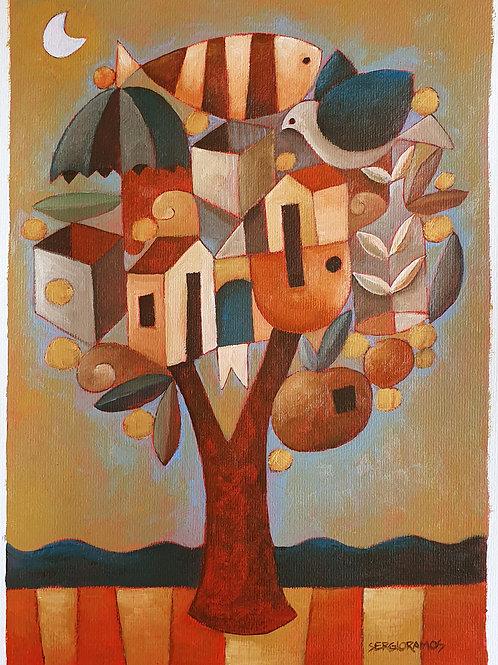 árvore da colheita 42x30