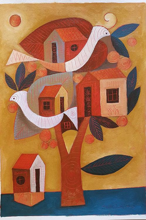 árvore casas 42x30