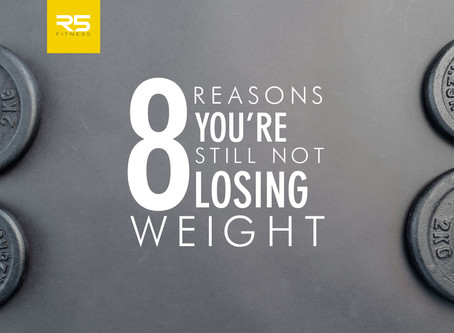 8 reasons you still aren't losing weight