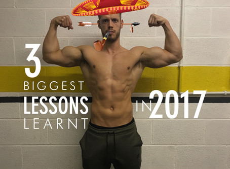 3 Biggest lessons learnt in 2017