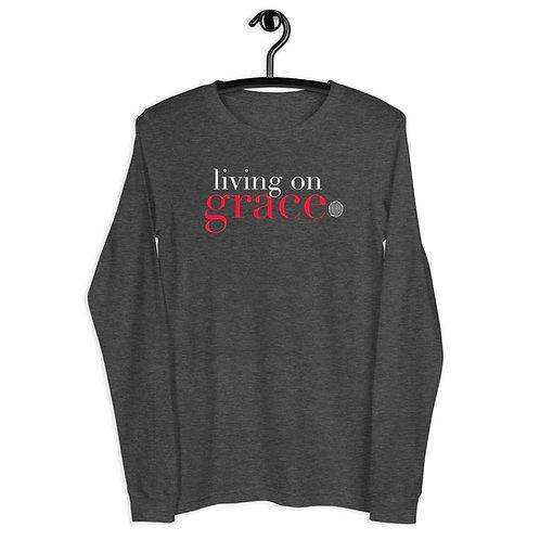 Living on Grace  Stroke Awareness Unisex Long Sleeve Tee