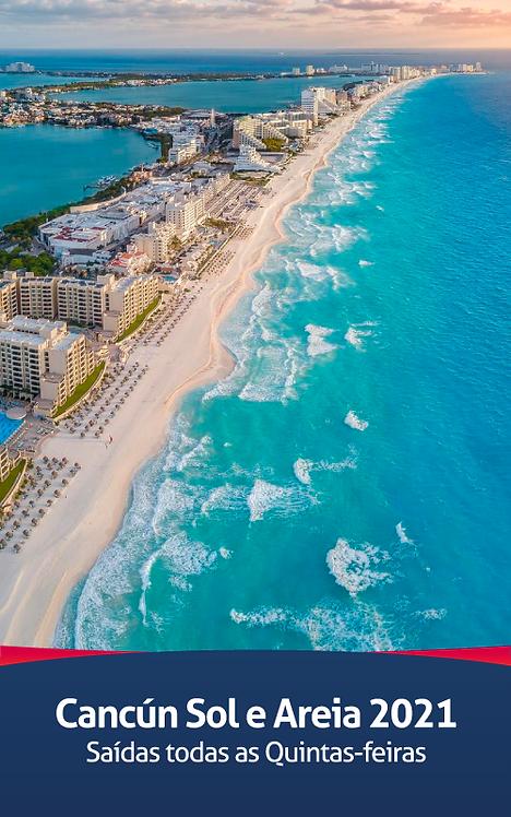 Cancún Sol e Areia 2021