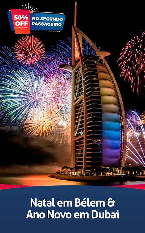 Natal em Belem & Ano Novo em Dubai