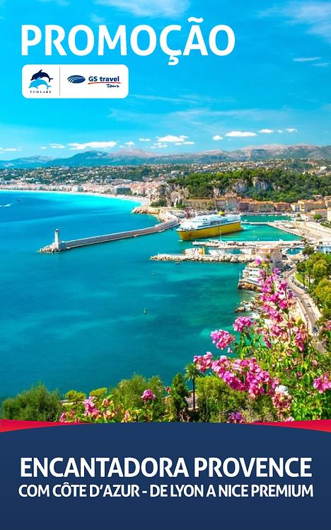 Encantadora Provence - De Lyon a Nice