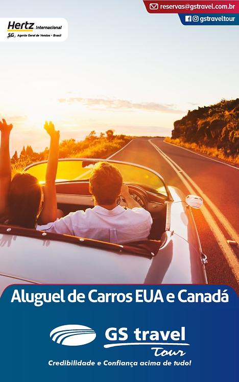 Aluguel de Carros EUA e Canadá