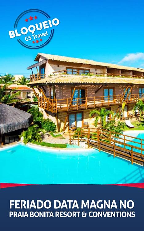 Feriado Data Magna no Praia Bonita Resorts & Conventions