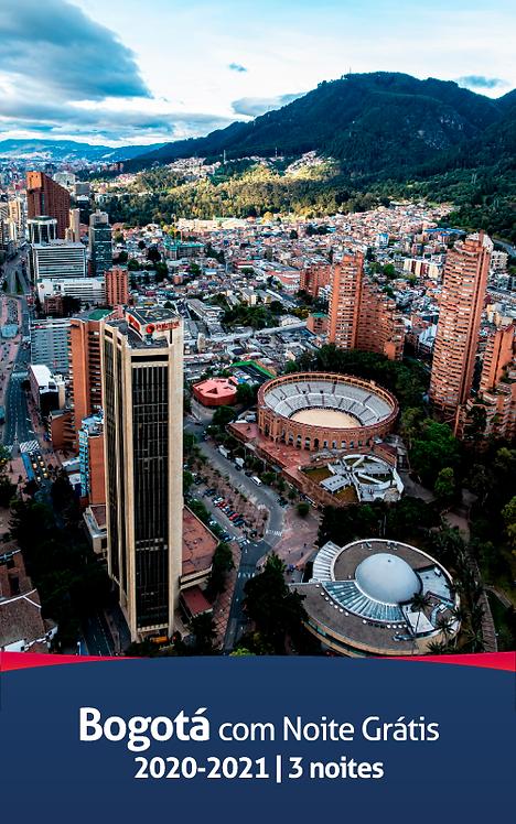Bogotá com noite grátis