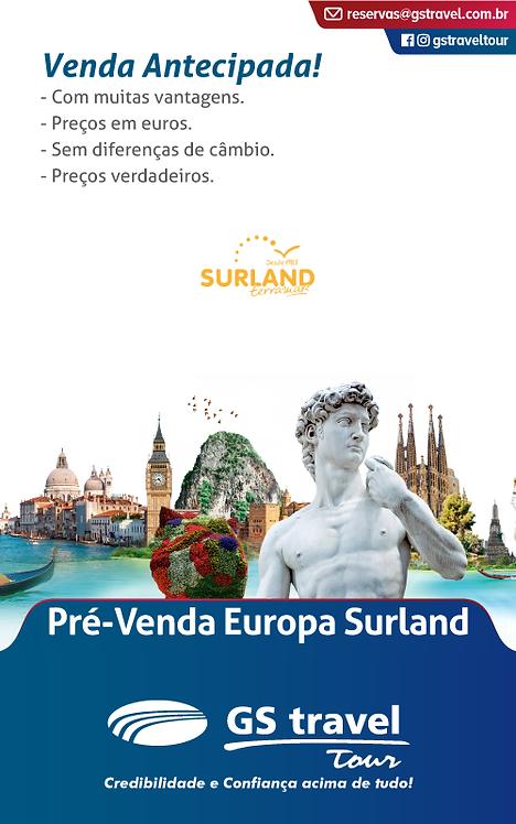 Pré-venda Europa Surland
