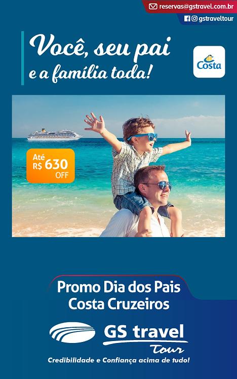 Dia dos Pais Costa Cruzeiros