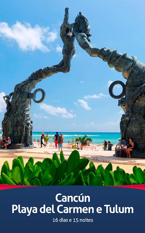Cancún   Playa del Carmen e Tulum