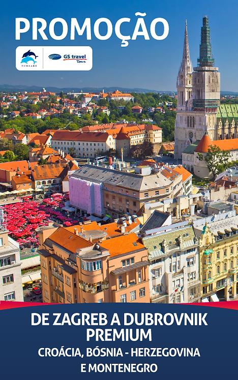 De Zagreb a Dubrovnik
