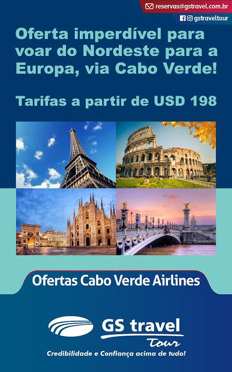 Ofertas Cabo Verde Airlines