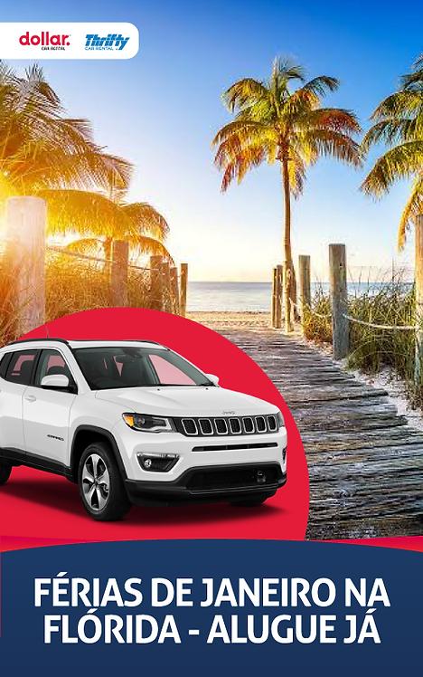 Férias na Flórida - Aluguel Carros