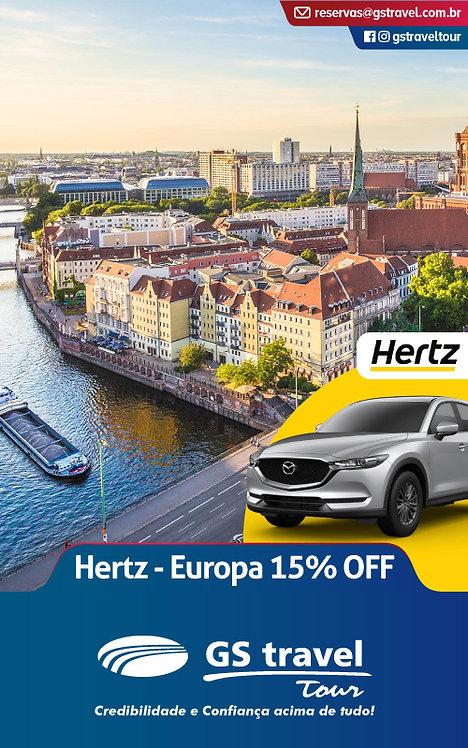 Hertz - Europa 15% OFF
