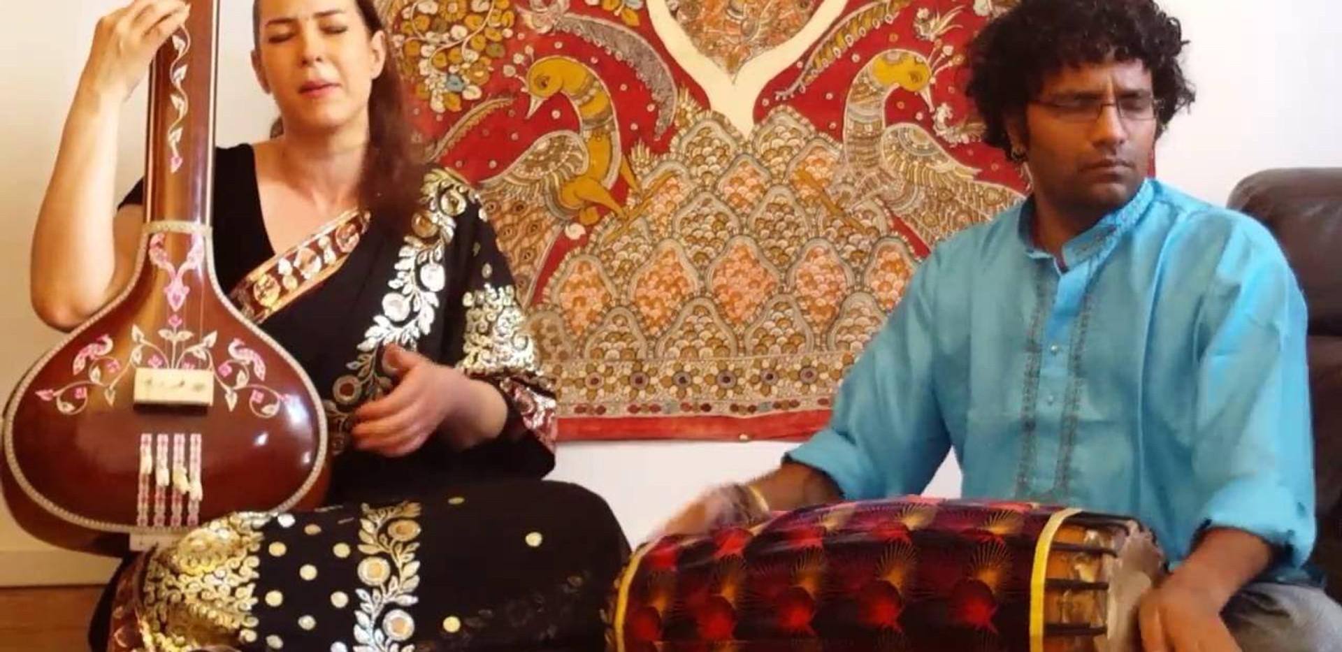 """chant carnatique Audrey Prem Kumar """"Revathi Tillana"""""""