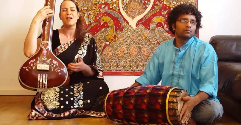 "chant carnatique Audrey Prem Kumar ""Srinivasa"""