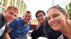Camel, Joël, Silv and DeLady