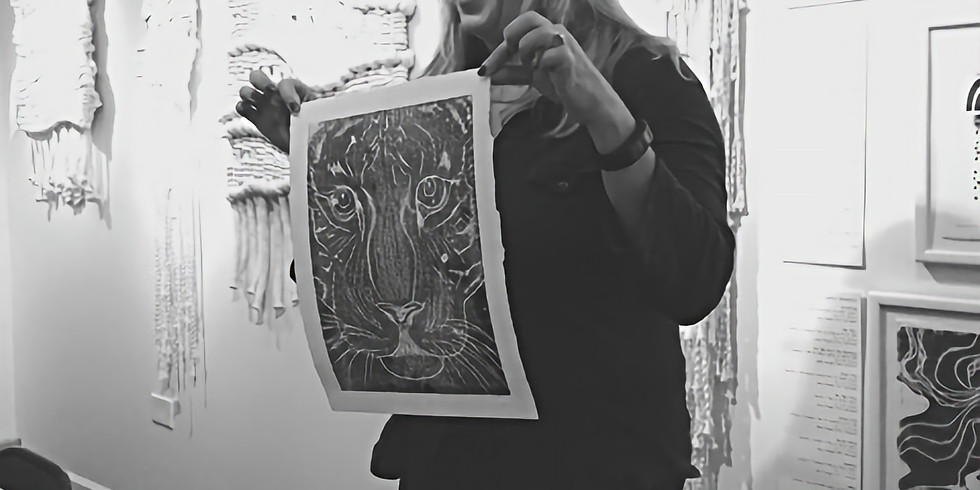 Intro to Linocut Printing: A Two-Session Workshop