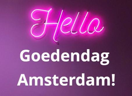 Goedendag Amsterdam!