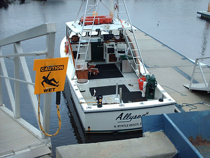 North Myrtle Beach Fishing Charter Boat