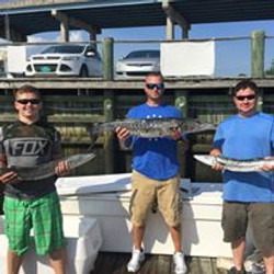 Barracuda Caught on Charter