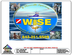 Wise fishing Charter Logo