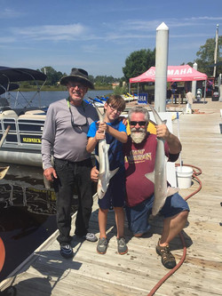 wise fishing charters family fun