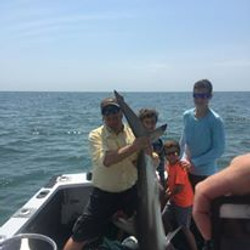 Shark fishing in North Myrtle